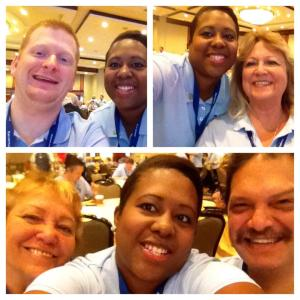 My Staff Partner and Team